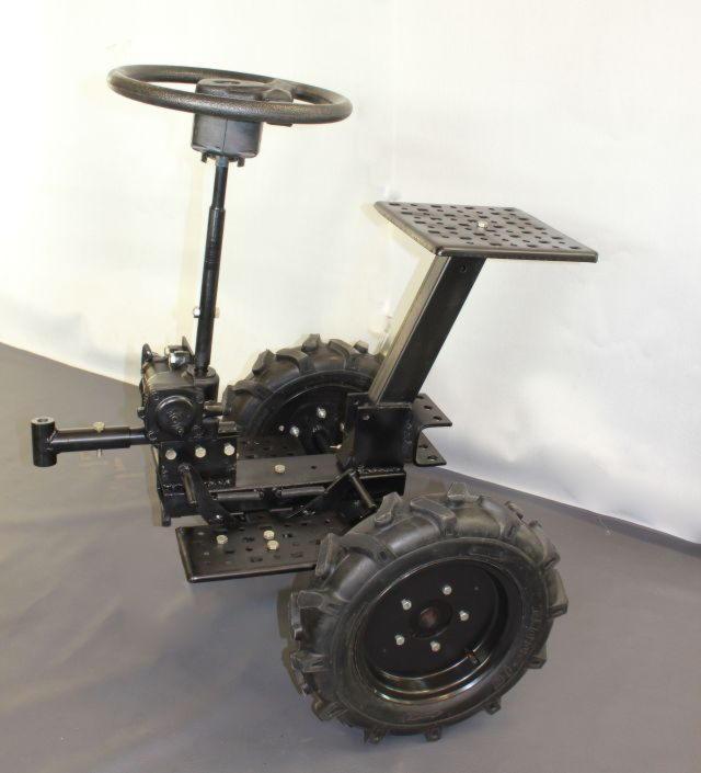 Адаптер для мотоблока своими руками с рулем
