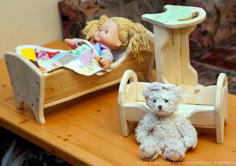 122Детская кроватка для кукол своими руками из картона