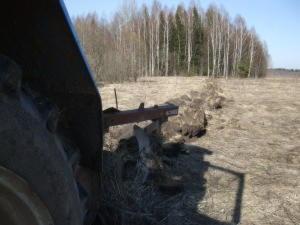 Полунавесные и навесные плуги к тракторам МТЗ у.