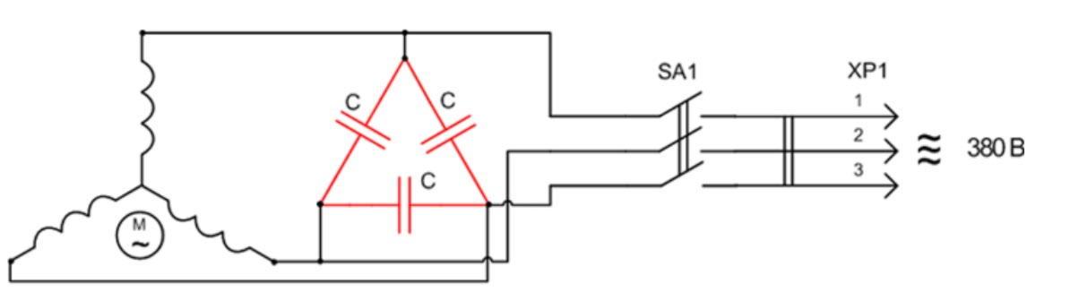 Как из трёхфазного двигателя сделать генератор