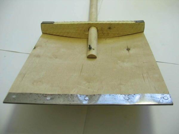 Сделать лопату для уборки снега своими руками фото 452