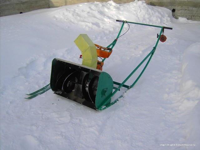 Видео самодельный снегоуборщик своими руками