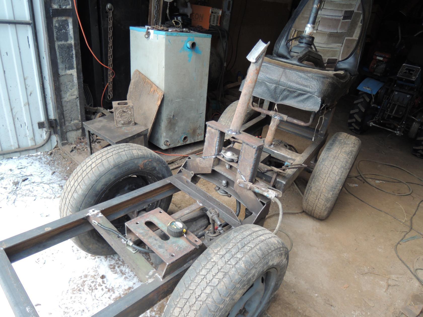 Рама для трактора своими руками 27