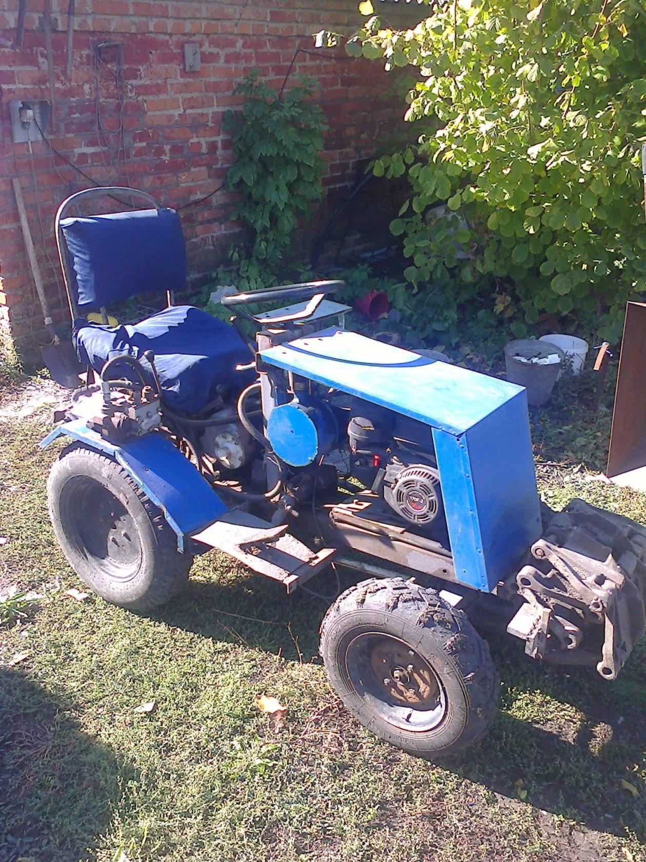 Как сделать самодельные трактора