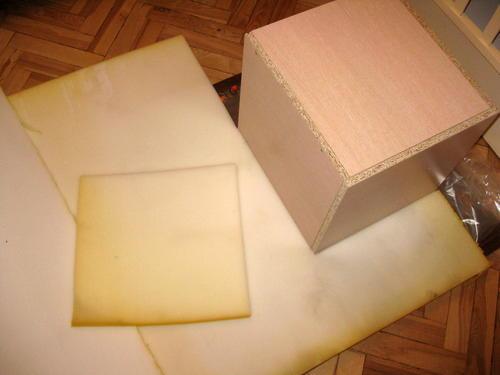 Как сделать пуфик с откидной крышкой
