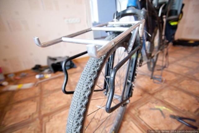 Багажник для горного велосипеда своими руками 37