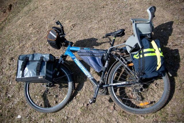 Багажник для велосипеда своими руками. Как сделать задний