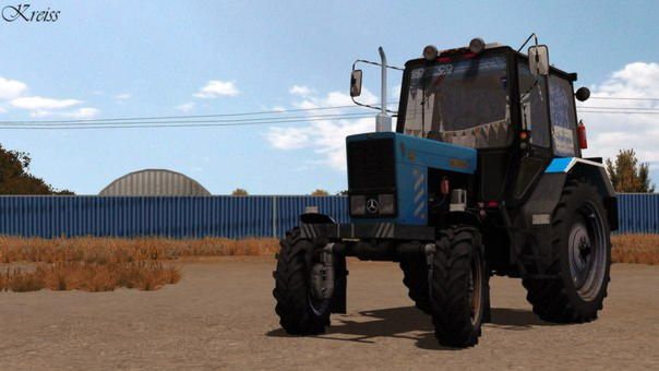 Трактор МТЗ-82 - описание, технические характеристики.