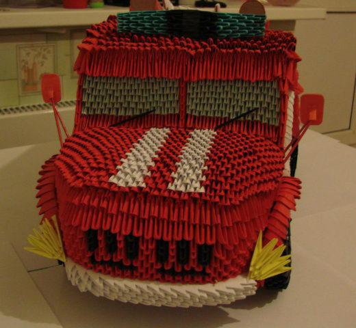 Схемы модульного оригами машины