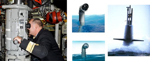 у подводной лодки перископ а у человека что