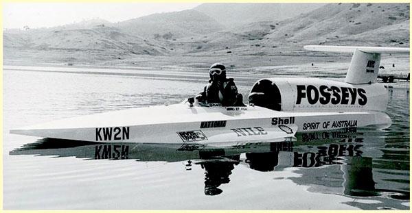 Кен Варби и его катер