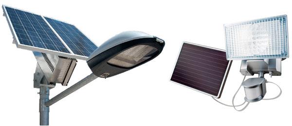 Мощные светильники для уличных столбов на солнечной энергии
