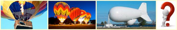 Как летают воздушные шары и аэростаты?