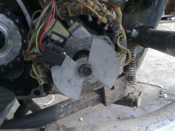 350 - Электронное зажигание на мотоцикл иж юпитер 5