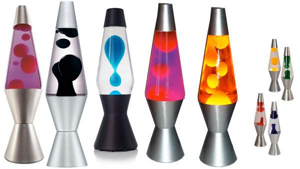 Лава лампы или лампы с движущейся жидкостью