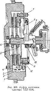Муфта сцепления трактора ТДТ-40М