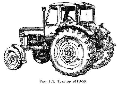 ТРАКТОР МТЗ-50 (МТЗ-50Л)