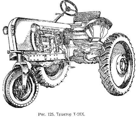 Тракторы Т-28Х и Т-28Х2